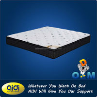 Bedrom Furniture Nature Bed Mattress,Classical Elegant Bonnell Spring Nature Knitting Fabric Bed Mattress