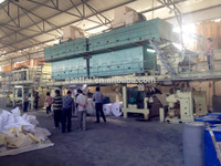 thermal paper coating machine with automatic tension and non stopping unwind & rewind