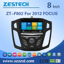 car dvd player with gps navigation and bluetooth for ford focus 2012 with Rear View Camera GPS BT TV Radio RDS