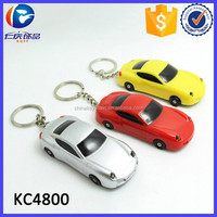 Creative Design Custom Car Shape LED Flashlight Keyring