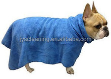 Microfiber Towel Bathing Dry Dog After Walking