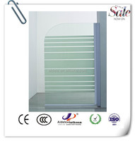 tempered glass hot sale fashion simple bath screen