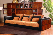 SF0902 America style golden cherry colour classic living sofa for football match