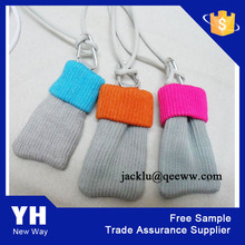 mobile phone bags knitted