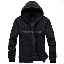 oem wholesale high quality thick warm blank classy men tall hoodies