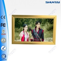 aluminum frame A3 led wall picture with light
