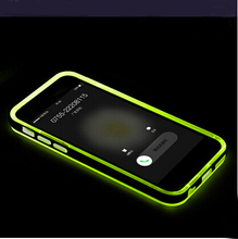 For iPhone6 Shining LED Case Cover , Combo 2 in 1 Soft TPU Bumper LED Light Flashing Case Cover For iPhone 6 / 6 Plus