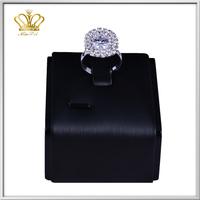 latest design fashionsmart style silver plated rhinestone diamond o ring wedding rings fashion jewelry
