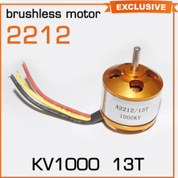 Multi-Copter Quad A2212 KV980 motor speed control