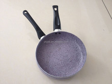 Marble Coating Pressed Non-stick Aluminum Cooking pans