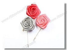 MSD wholesale artificial flower brooch for wedding decoration