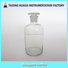 Clear Glass Reagent bottle, narrow mouth
