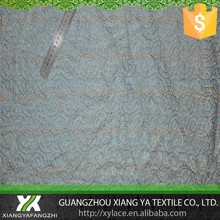 87004 golden silk embroidery chemical guipure manufacturers net organza mesh lace fabric lace george