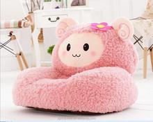 hot sell fat lamb plush baby sofa chair, Kid Toddler Sofa Chair , plush animal sofa chair