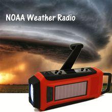 Solar hand crank mp3 player fm radio voice recorder