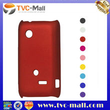 Rubberized Hard Plastic Case for Sony Xperia tipo ST21i