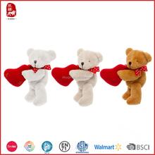 Lovely high quality scented teddy bear in bag stuffed animals teddy bear soft toy