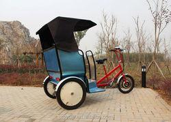 Convenient auto rickshaw with trunk