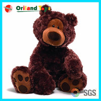 2015 special custom metallic teddy bear keychain