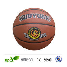 PU TPU PVC rubber basketball hot sale basketball games
