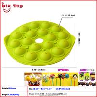 18 Cavity Silicone Cake Pop Mold 18 Cavity Silicone Bakeware 18 Cavity Silicone Lollipop Cake Decoration