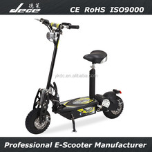 NEW 2015 best high speed two wheel CE&RoHS 800W brushless motor cheap eec electric scooter for adults