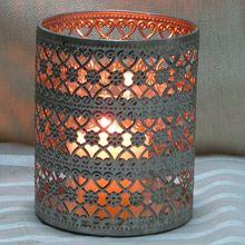 Custom Printed Crafts Stemmed Pillar Candle Holder