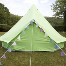 New Style 4m Camping Cotton Canvas Bell Tent
