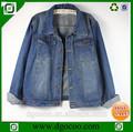 otoño de nuevo diseño de moda de las señoras estilo bf de negocios lavado baratos chaquetas para mujer