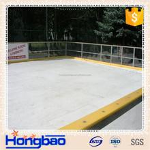 HDPE slippery plastic shooting pad/ practice shooting