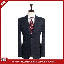 Mens suit plaid suits for man
