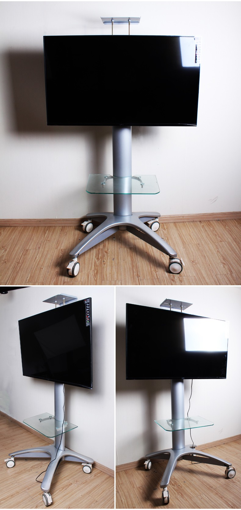 Universal Mobile TV Carrello Supporto per LED, LCD, Plasma, e ...