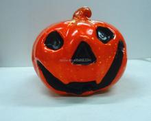 2015 New Design hot selling fake decorative PVC Halloween pumpkins