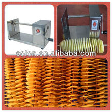 Manual Spiral Potato cutter machine for Twist curly fries with high quality