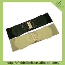 double half moon lot 2 colors elastic fashion belt