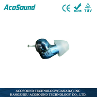 AcoSound Acomate 610IF Hearing Aid Amplifier mini ear Medical Devices