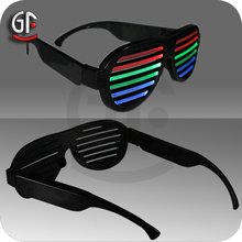 China Gift Items Led Cheap Factory Price Sound Activated Brand Name Sunglasses