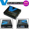 2015 New Product HDMI Converter 4K Audio Video HDMI To VGA Converter