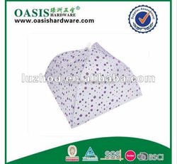 fabric material folded food cover/food umbrella