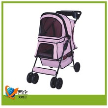 large pet carrier with wheels for dog
