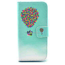 New design hot sale cell phone leather cover for Samsung S4mini 9190 phone case