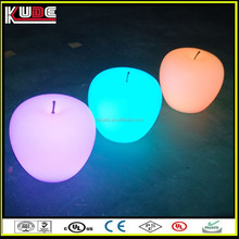made in China led lighting apple for Christmas decoration