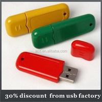 very popular bulk 8GB plastic usb flash dirve