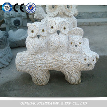 Garden stone animal carvings,garden statue