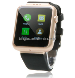 Bluetooth Gold SIM Smart Watch Wireless K8 Waterproof Smartwatch WristWatch for Men