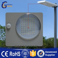Integrated design pure/cold/warm white outdoor solar power led lighting street lamp