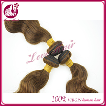 New Coming Grade AAAAA Color #4 Remy Brazilian Body Wave 4*4 Bleached Knots Hair Closure Piece