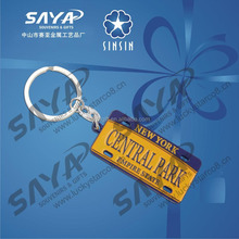 Customized Empire state metal souvenir keychain