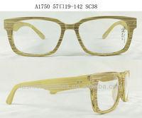 Japanese design optical eyewear, designer wood eyegalsses, handmade acetate A1750