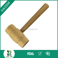 High quality metal meat tenderizer/wooden meat hammer for kitchen use/make meat tenderizer